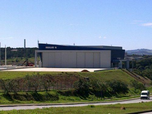 Hangar 41 Aeroporto  Jundiaí/SP  Área Construída: 2.291,57 m²