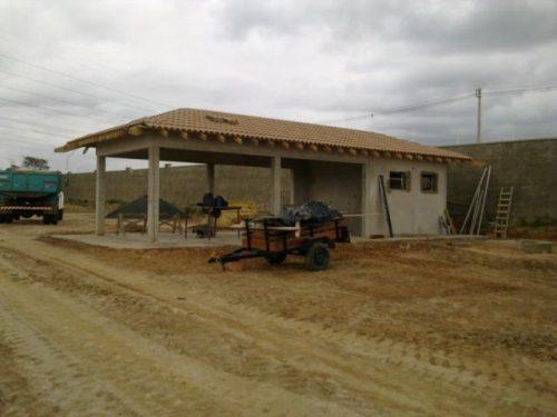 Quiosques em condomínio residencial  Campinas/SP   Área Construída:92 m²