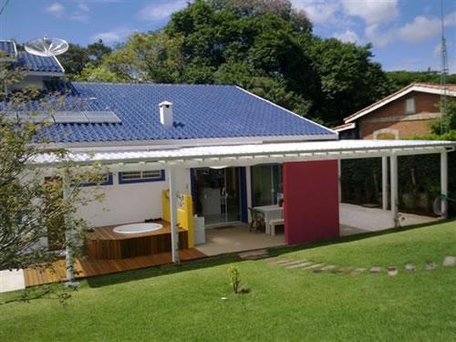 Residência padrão rústico Itupeva/SP  Área Construída: 320 m²